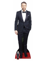 Ryan Reynolds Black and White Suit (Bowtie)