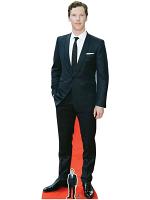 Benedict Cumberbatch Smart White Pocket Square