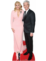 Holly Willoughby & Phillip Schofield Life-size Cardboard Cutout