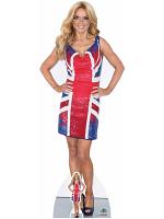 Geri Halliwell Union Jack Dress Spice Girls