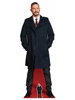 Tom Hardy Long Black Coat Life-size Cardboard Cutout