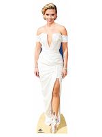 Scarlett Johansson White Dress
