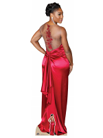 Lifesize Cardboard cutout of Serena Williams Red Dress