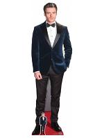 Richard Madden Blue Velvet Jacket Cardboard Cutout with Free Mini Cardboard Cutout