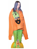Billie Eilish Tongue Out Cardboard Cutout with Free Mini Table Top Standee