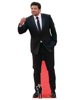 Patrick Bruel Suit Cardboard Cutout