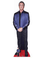 Sylvester Stallone Cardboard Cutout with Free Mini Standee