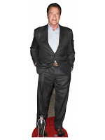 Arnold Schwarzenegger Cardboard Cutout with Free Mini Standee