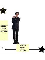 Yoon Ji Sung Wanna One Cardboard Cutout with Free Mini Standee