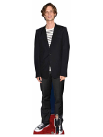 Matthew Gray Gubler Black Jacket Cardboard Cutout with Free Mini Standee