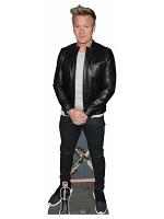 Gordon Ramsay Black Jacket Cardboard Cutout with Free Mini Standee