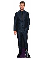 Chris Hemsworth Blue Suit Black Tie Cardboard Cutout with Free Mini Standee
