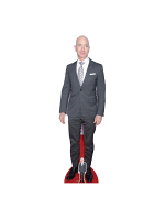 Jeff Bezos Buisnessman Lifesize Cardboard Cutout With Free Mini Standee