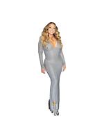 Mariah Carey Singer Lifesize Cardboard Cutout With Free Mini Standee
