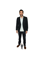 Tom Ellis Actor Lifesize Cardboard Cutout With Free Mini Standee