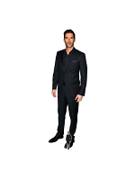 Tom Ellis Actor Tongue Out Lifesize Cardboard Cutout With Free Mini Standee
