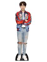Jeon Jung-kook (Jungkook) Red Jacket BANGTAN BOYS