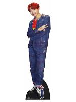 Bangtan Boy Red Hair Jung_Ho_soek_J_Hope (Star Mini)