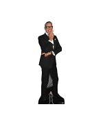 Jeff Goldblum (Black Suit) Cardboard Cutout with Free Mini Cardboard Cutout