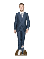 Jordan Henderson Footballer Lifesize Cardboard Cutout with Free Mini Standee