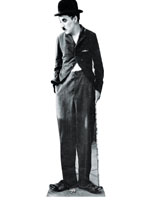 Charlie Chaplin Cardboard Cutout