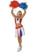 Cheerleader - White/Red/Blue