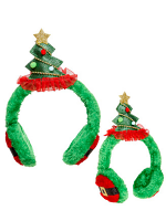 Christmas Tree Earmuffs