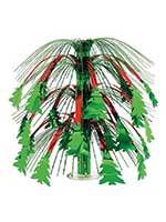 Christmas Tree Cascade Centerpiece 18""