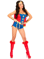 Comic Book Girl Costume