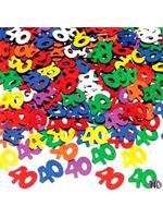 Confetti Assorted colour '40' (1 x 14g bag )