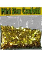 Confetti Gold Mini Stars  bag of 84g