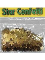 Confetti Large Gold Stars bag of 84g