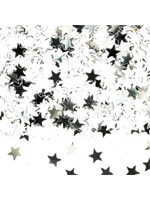 Confetti Silver Jumbo Stars - buy 1 get 1 free