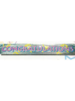 Congratulations Banner 12ft