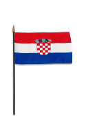Croatia Hand Held Flag