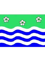 Cumbria Flag 5ft x 3ft With Eyelets For Hanging