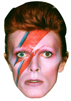David Bowie Mask (Aladdin Sane)
