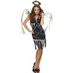 Dark Fallen Angel Costume Black