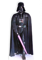Darth Vader With Lightsaber (Star Wars) Cardboard Cutout