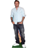 David Beckham Cardboard Cutout