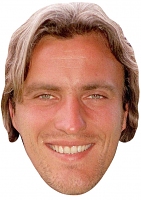David Ginola Young Mask