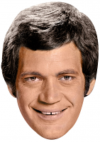 David Letterman Young Mask
