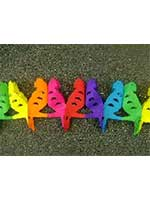 Decoration Parrot  Assorted Colour Garland (1)