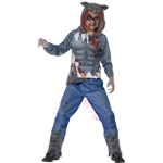 Deluxe Wolf Warrior Costume