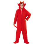 Devil Costume Red