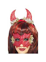 Devildina Mask and Horns Set