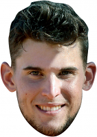 Dominic Thiem Mask