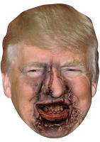Donald Trump Zombie - Cardboard Mask