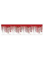 "Dripping Blood Poly Decorating Material 12"" x 25'"