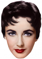 Elizabeth Taylor Mask (Young)